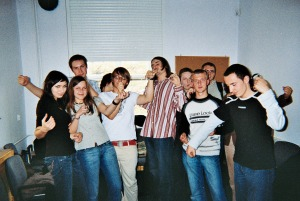 My first Law students at the Jagiellonian University (2006)