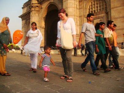 Alina in Mumbai