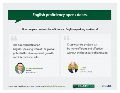 English Proficiency Opens Doors